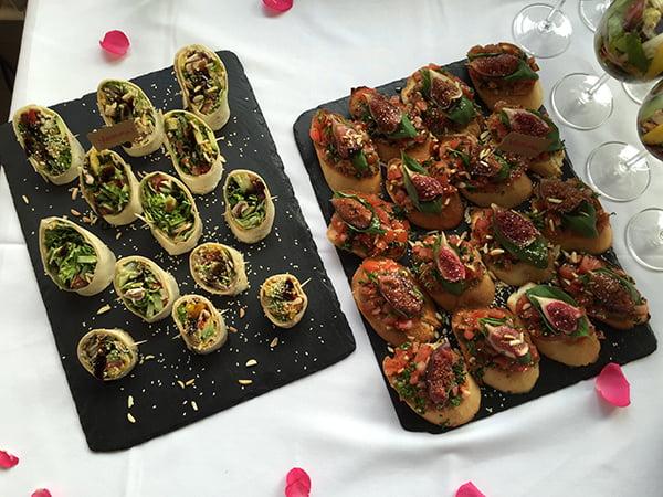 Lavera #handmate Event Hamburg: Healthy buffet