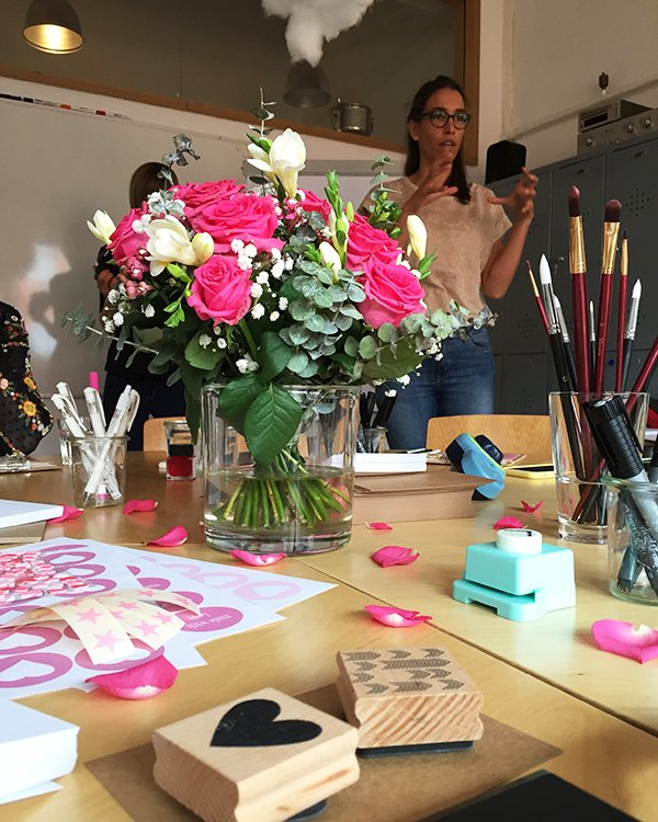 Lavera #handmate Event Hamburg: Hand Lettering Workshop mit lovetypo.de