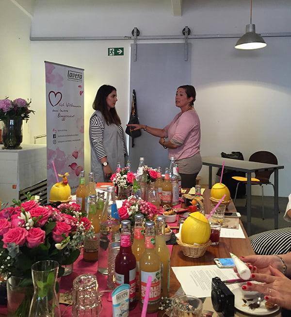 Lavera #handmate Event Hamburg: Körperrhetorik mit Nadine Kmoth