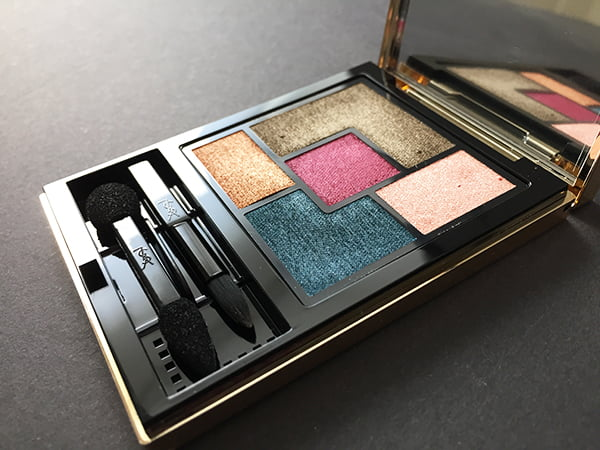 YSL Fall Look 2016 Scandal Collection, Couture Palette Collector, Image by Hey Pretty