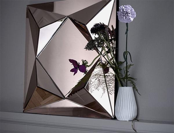 Diamond Mirror Square, Bolia Schweiz, Preview Hey Pretty (Image copyright: Bolia,com)