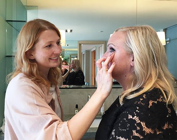 Skincolor de la Mer Launch Event, Make-Up Artist Monika Spisak und Steffi von Hey Pretty