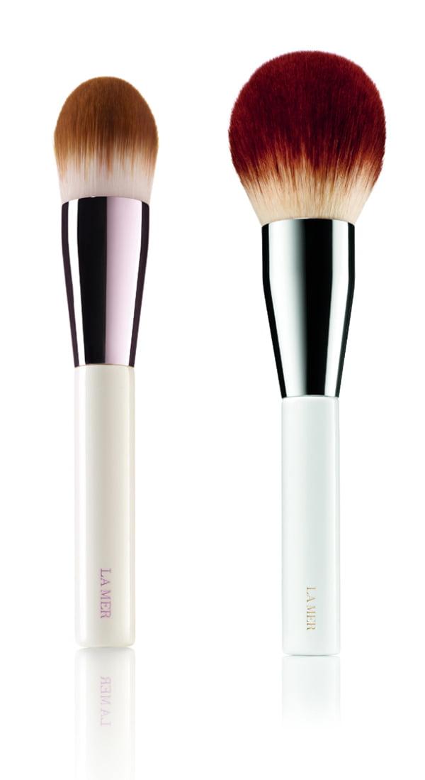 Skincolor de la Mer Foundation Brush and Powder Brush