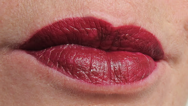 Giorgio Armani Lip Magnet in 602 Night Viper, Swatch by Hey Pretty Beauty Blog