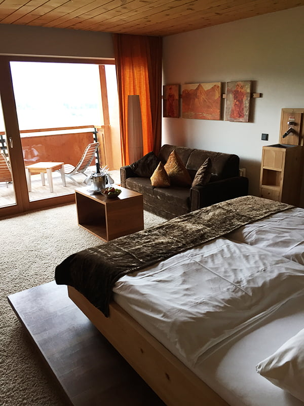 MOHR life resort Spa Erfahrung, Doppelzimmer «Deluxe», Image by Hey Pretty Beauty Blog