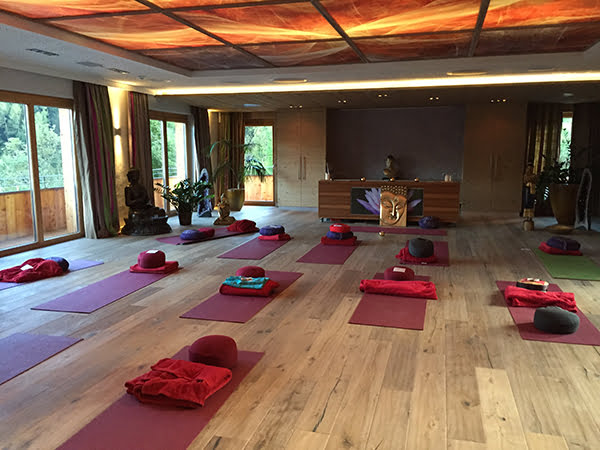 Yogaraum STOCK resort, Image by Hey Pretty Beauty Blog