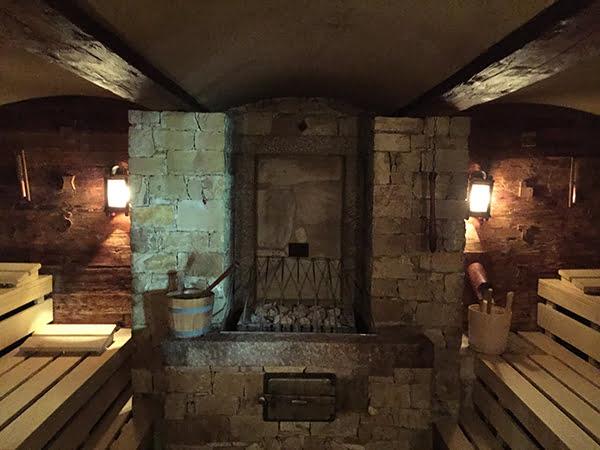 Sauna STOCK resort, Image by Hey Pretty Beauty Blog