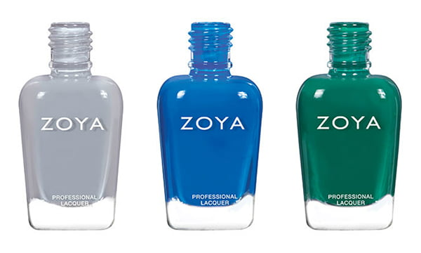 Zoya Urban Grunge Collection Fall/Winter 2016, in August, Mallory and Wyatt