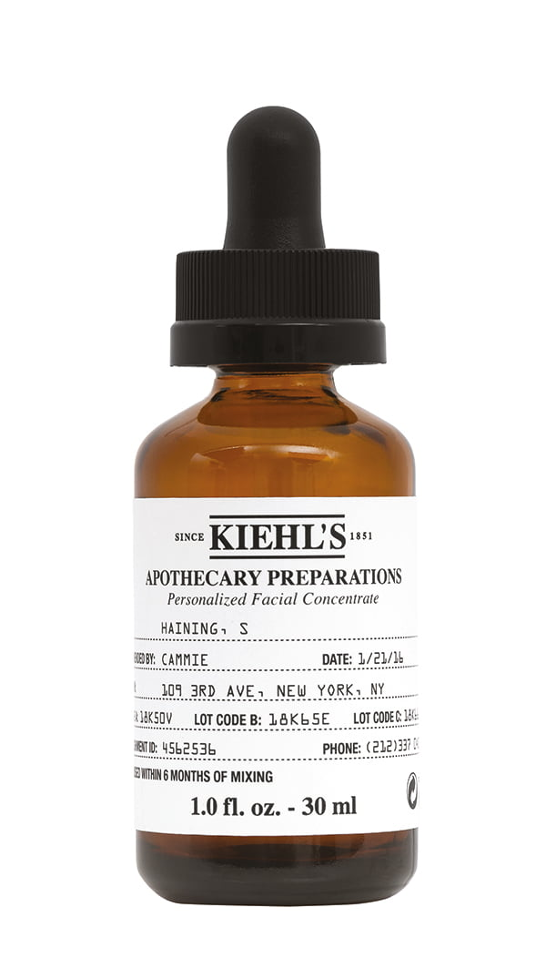 Kiehl's Apothecary Preparations Personalized Facial Concentrate