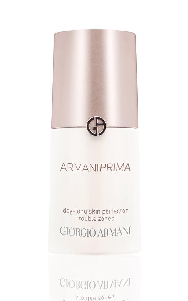Giorgio Armani Beauty PRIMA skincare review, Day-Long Skin Perfector Trouble Zones