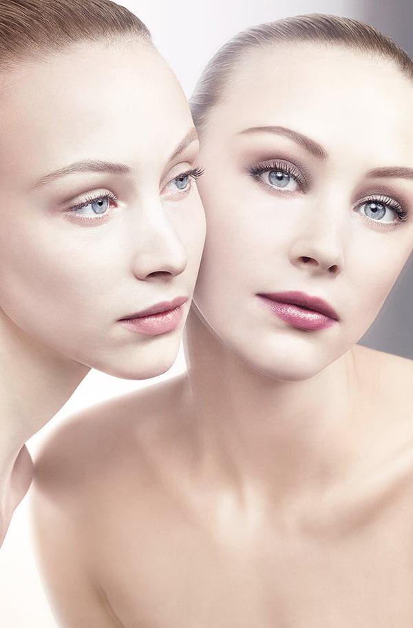 Giorgio Armani Beauty PRIMA skincare, PR Visual Model