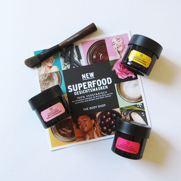 The Body Shop Superfoods Masks, Image by Hey Pretty