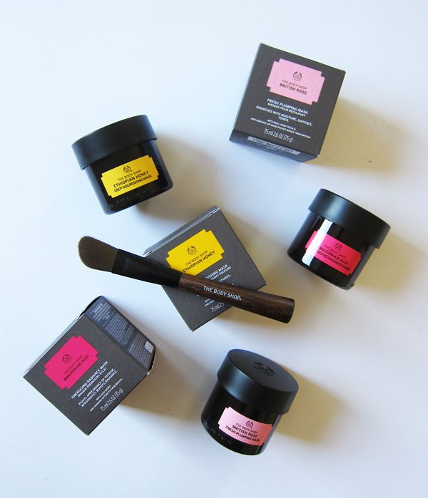 The Body Shop Superfoods Masks and Brush, Erfahrungsbericht – image copyright: Hey Pretty