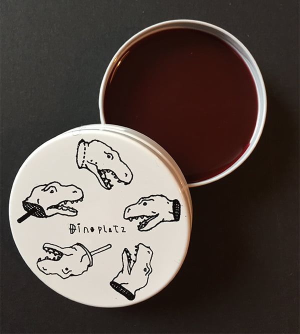 Dinoplatz Lip Balm in Spilled Wine, Image by Hey Pretty