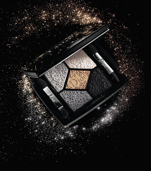 Dior Splendor 5 Couleurs Palette in Smoky Sequins (Mood Visual)