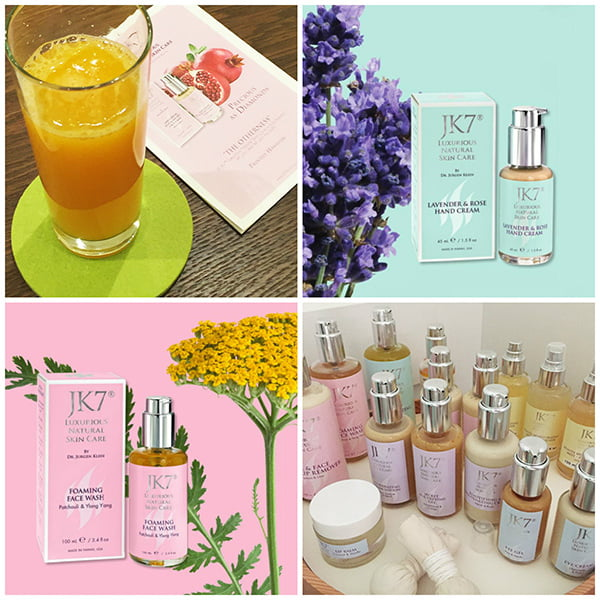 JK7 Luxurious Natural Skincare, Facial Treatment Review (Image: Hey Pretty Beauty Blog)