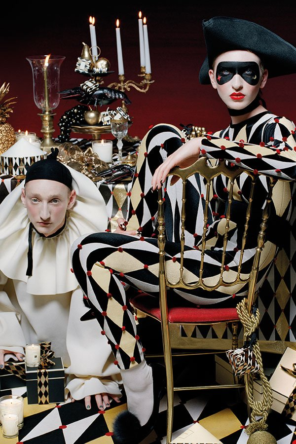 Jo Malone London Holiday Collectio 2016, PR Mood Visual Jester