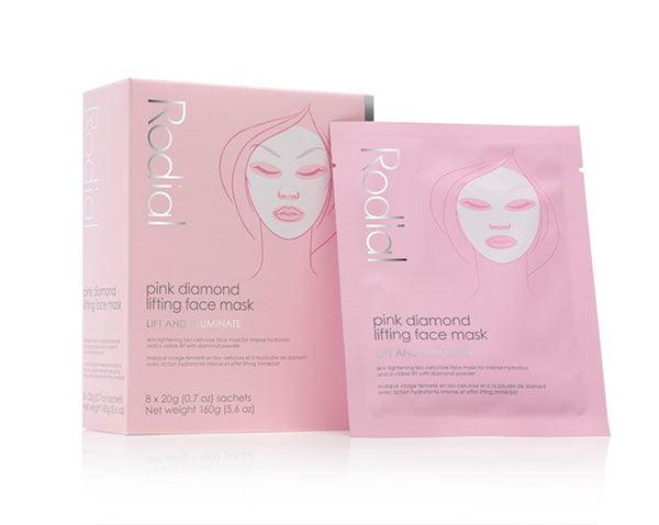 Super luxe, super efficient: Rodial Pink Diamond Sheet Masks