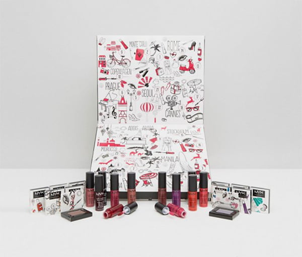 NYX Advent Calendar, Image by ASOS