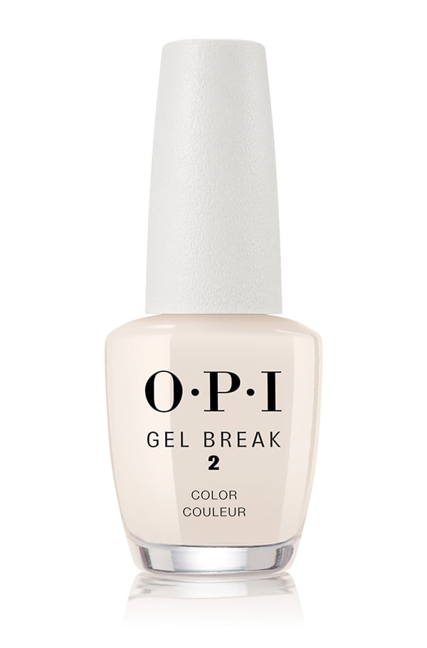 OPI Gel Break Color in Barely Beige