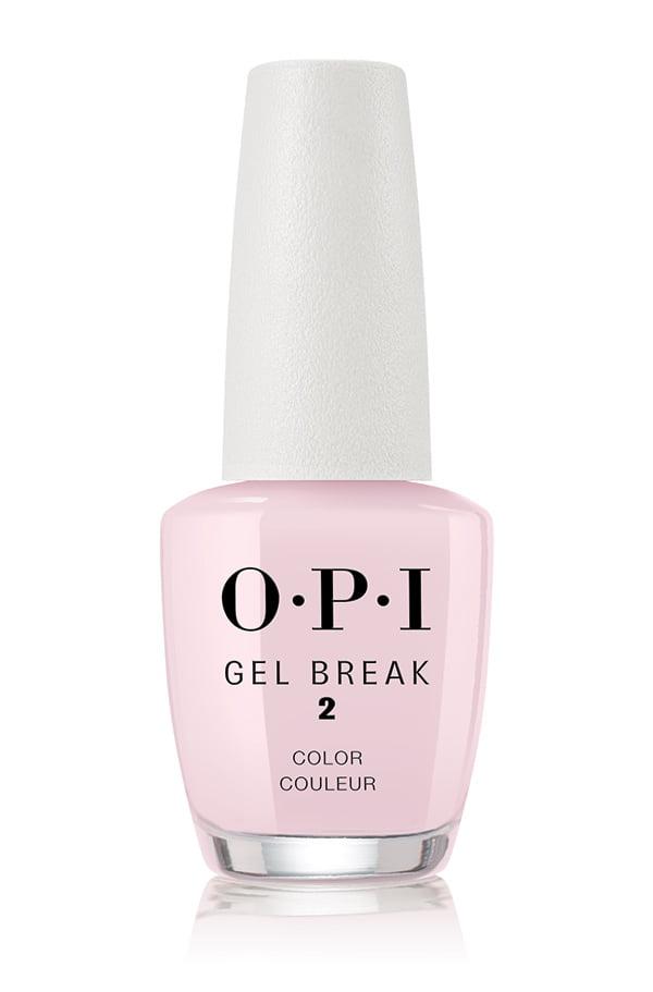 OPI Gel Break Color in Properly Pink