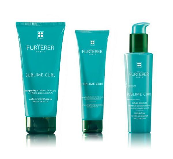 Für Locken: René Furterer Sublime Curl Shampoo, Spülung und Curl Ritual Lotion
