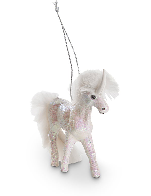 Unicorn Christmas Bauble by Interio
