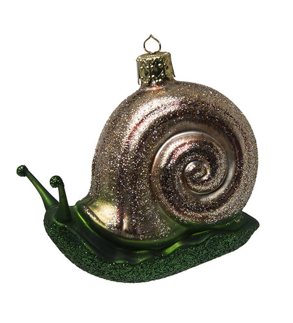 Snail Christmas Tree ornament by Globus