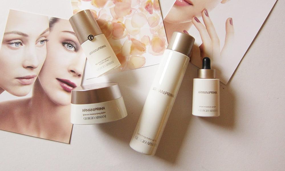 Giorgio Armani Beauty PRIMA: The skincare line for Make-Up-Lovers