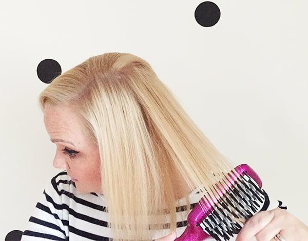 Das Umsteigen des Haares bei den Frauen spb