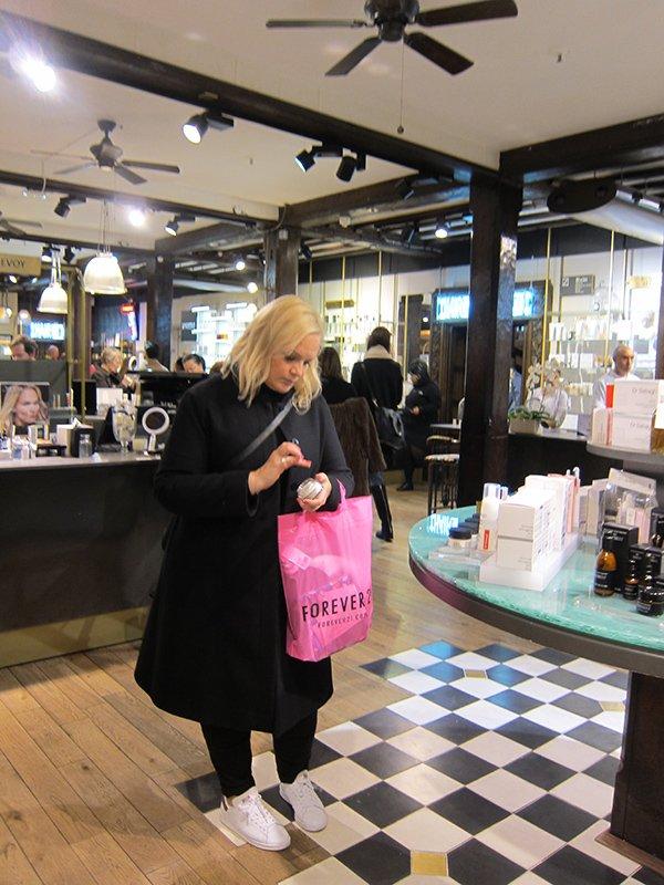 Liberty Beauty Department: Beauty Shopping
