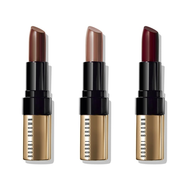 Bobbi Brown's beautiful Luxe Lip Colors in the Wine & Chocolate Holiday Collection