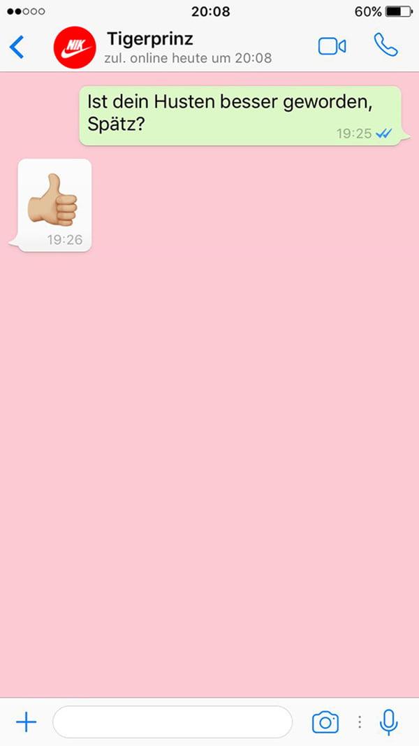 #realironman Battle auf Hey Pretty: Messaging mit Nik