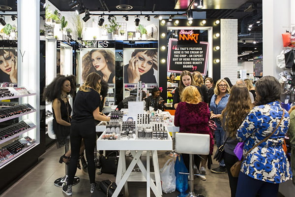 London Beauty Shopping with Hey Pretty: BeautyMart at Topshop