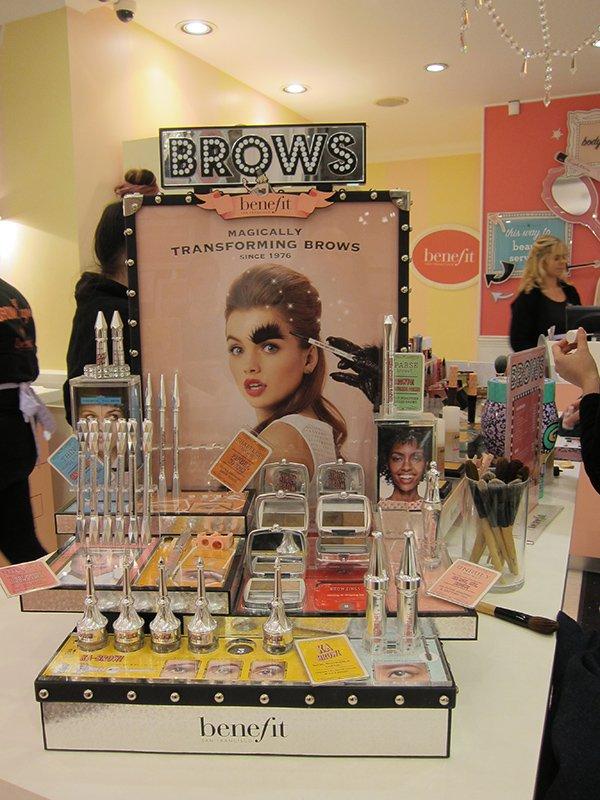 Benefit: Beauty Shopping in London