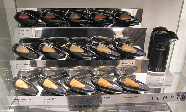 Beauty Shopping in London: Temptu at Space NK