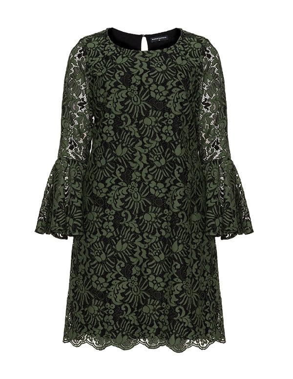 Manon Baptiste Partykleid grüne Spitze, Navabi