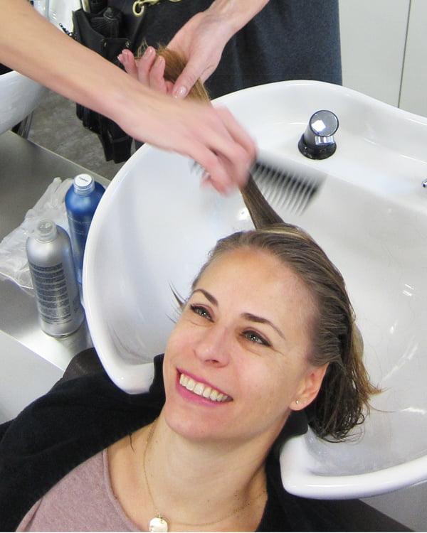 Adamantium-Glättungsbehandlung, Step 1: Einwaschen