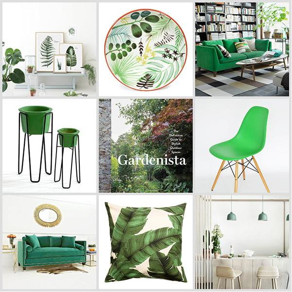 Wohnen mit der Farbe Grün (Hey Pretty)
