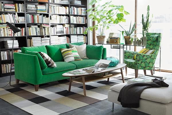 IKEA Stockholm 2er Sofa (Bild via Roomido)