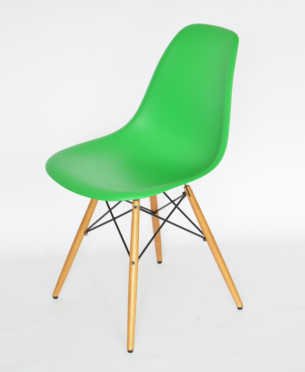 Vitra Eames DWS in Classic Green