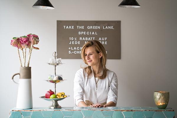 Lara Schurter, Greenlane Zürich (PR Bild)