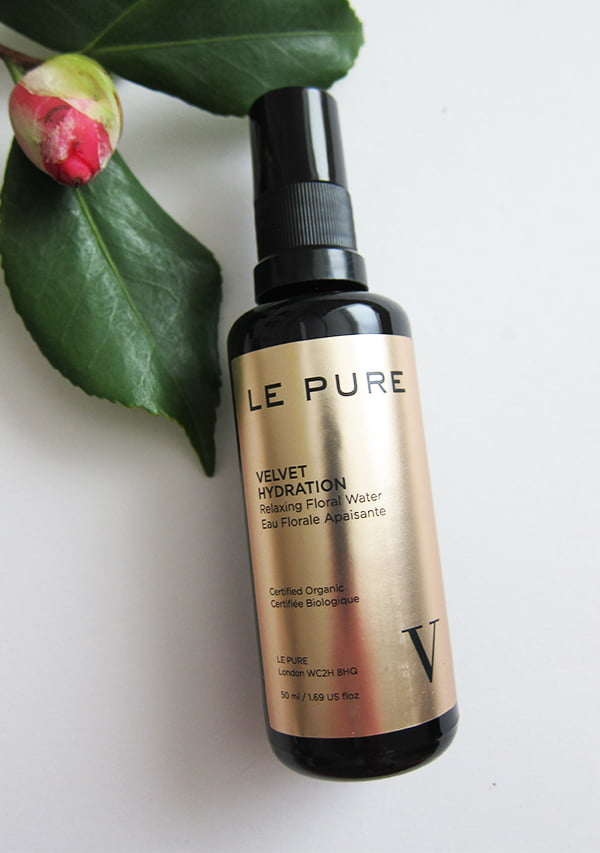 Organic Skincare: LE PURE Velvet Hydration Relaxing Floral Water