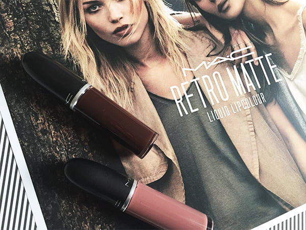 MAC Retro Matte Liquid Lipcolour, Review and Swatches by Hey Pretty