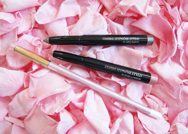 Lancôme Absolutely Rose Spring Look: Ombre Hypnose Stylo and Le Crayon Miracle