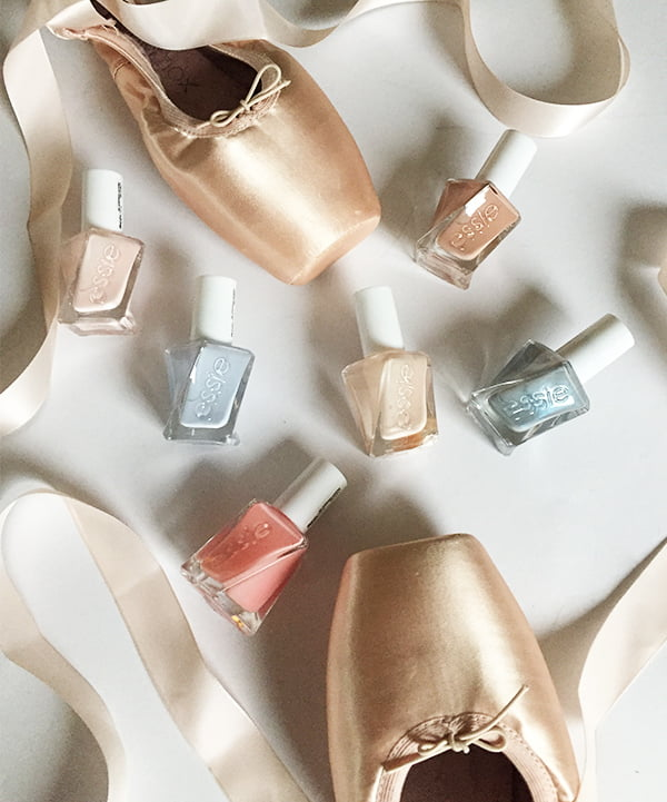 Hey Pretty review: Essie Gel Couture Ballet Nudes