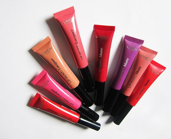 L'Oréal Paris Infaillible Lip Paints (2017)