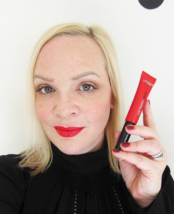L'Oréal Paris Infaillible Lip Paint in Red Actually (Matte)