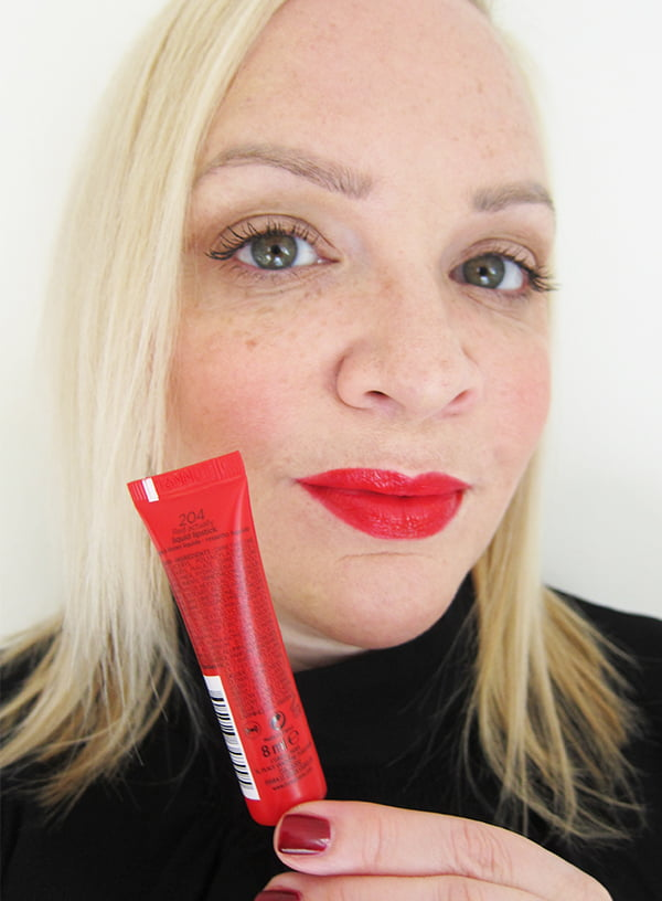 L'Oreal Infaillible Lip Paint in Red Actually, Swatched