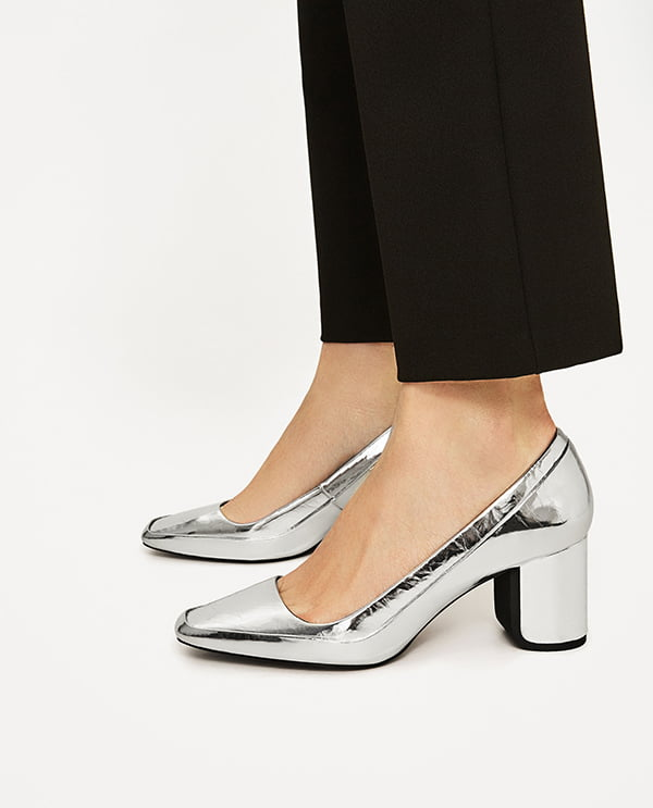 89cbda70 Fashion Flash: Metallic Shoes - Hey Pretty Beauty Blog